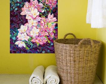 Abstract Flower Wall Sticker Decal – Cascade by Mandy Budan