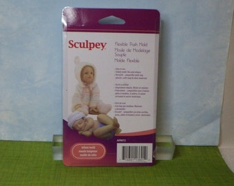 Infant Flexible Mold for Clay Crafting by Sculpey