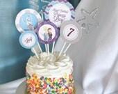 Frozen Cake Toppers, Custom Frozen Party, Frozen Party Decorations, Custom Frozen Cake Toppers