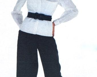 RARE Montana top & pants pattern -- Vogue Paris Original 2246