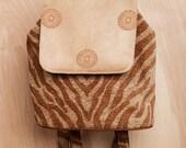 Women's Backpack- Mini Backpack- Back to school Mini Backpack- Purse- Backpack- by beckyzimmdesign