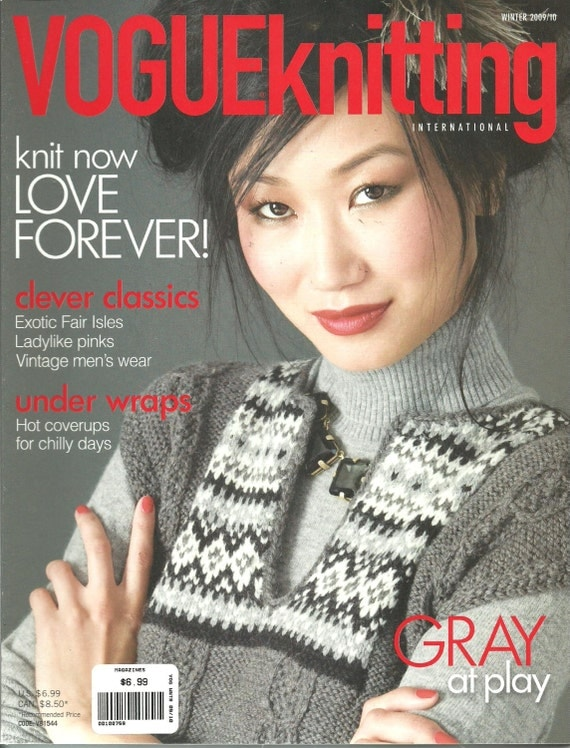 Vogue Knitting : Vogue Knitting Magazine Winter 2009 2010 NJ by DreamerLane on Etsy