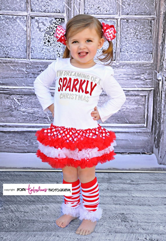 Adorable christmas dress boutique pettidress cute outfit for baby