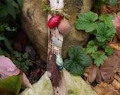 Earth Goddess fairy Wand - Fairy Realm- Earth Power