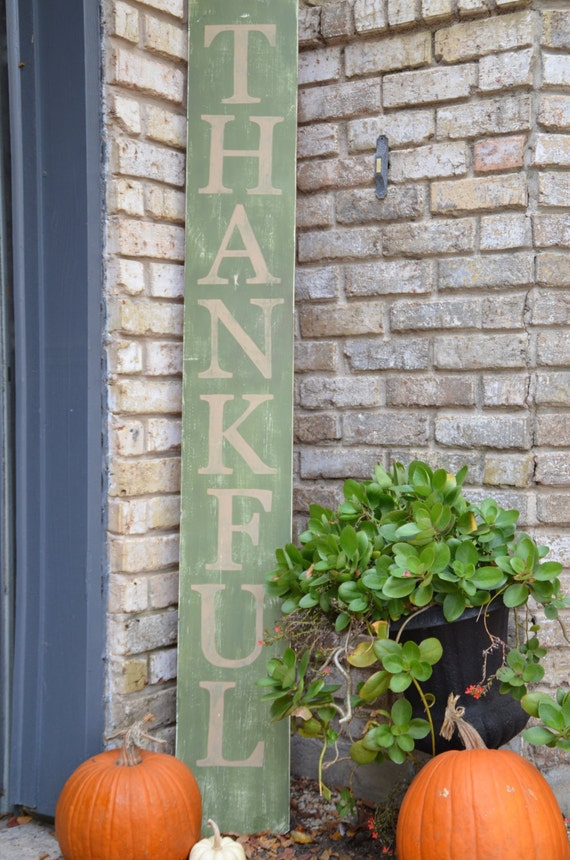 Thankful Believe Wooden Yard Decor Sign By Katieringer On Etsy