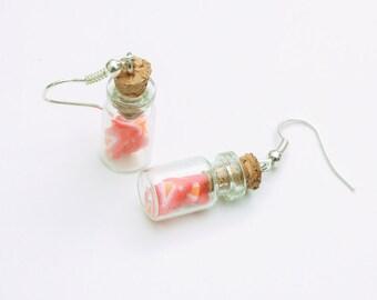 Strawberries in Jars Earrings