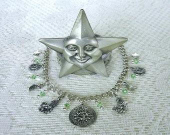 Leo Charm Bracelet Zodiac Bracelet Horoscope Birthday Gift
