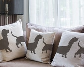 Dachshund Dog Stencil from The Stencil Studio. Reusable home decor & DIY stencils, simple to use. 10053
