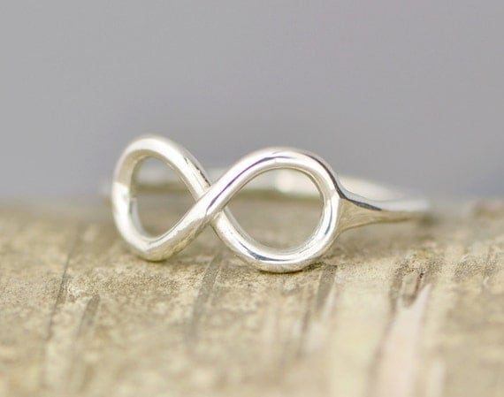 Sterling Silver Infinity Ring, Promise Ring, Infinity Jewelry, Thumb Ring, Eternity Ring, Infinity Symbol, Friendship Ring, Infinity Rings
