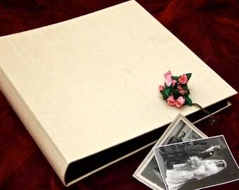 ivory silk album - mini
