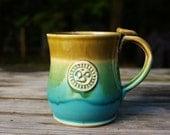 Ceramic Yoga Mug, Om, Ceramic Mug, Multiple Sizes