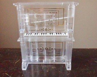 Piano bank pennies from heaven bank coin sorter Coin sorting bank for kids