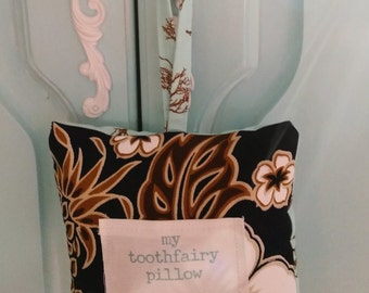 Hawaiian Inspired Toothfairy Pillow, small
