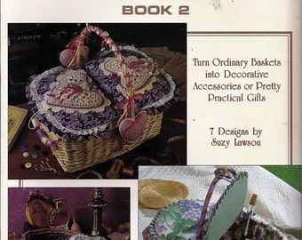The Basket Case Book 2 Craft Pattern Book Leisure Arts 1482