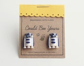 R2D2 Droid  Earrings Star Wars