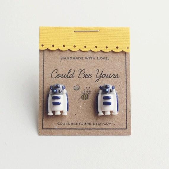 R2D2 Droid  Earrings Star Wars