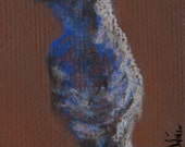 Small Bird Sketch Pastel Decorative Wildlife House Finch Art by Niki Hilsabeck
