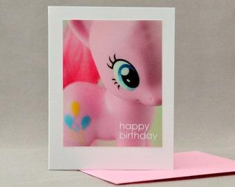 MLP Pinkie Pie My Little Pony Birthday Card