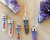 Gypsy Jewelry - Raw Gemstones and Crystals - Metaphysical Jewelry - Healing Jewelry - Healing Crystals - Chakra Jewelry