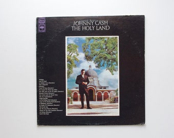 The Holy Land LP by Johnny Cash - 1969 - Johnny Cash Record