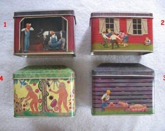 Vintage TinScape Collectible Tin Box - Take Your Pick