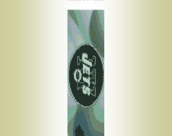 NFL New York Jets Peyote Bracelet Pattern