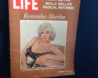 Sale Vintage 1972 Marilyn Monroe Life Magazine Remember Marilyn