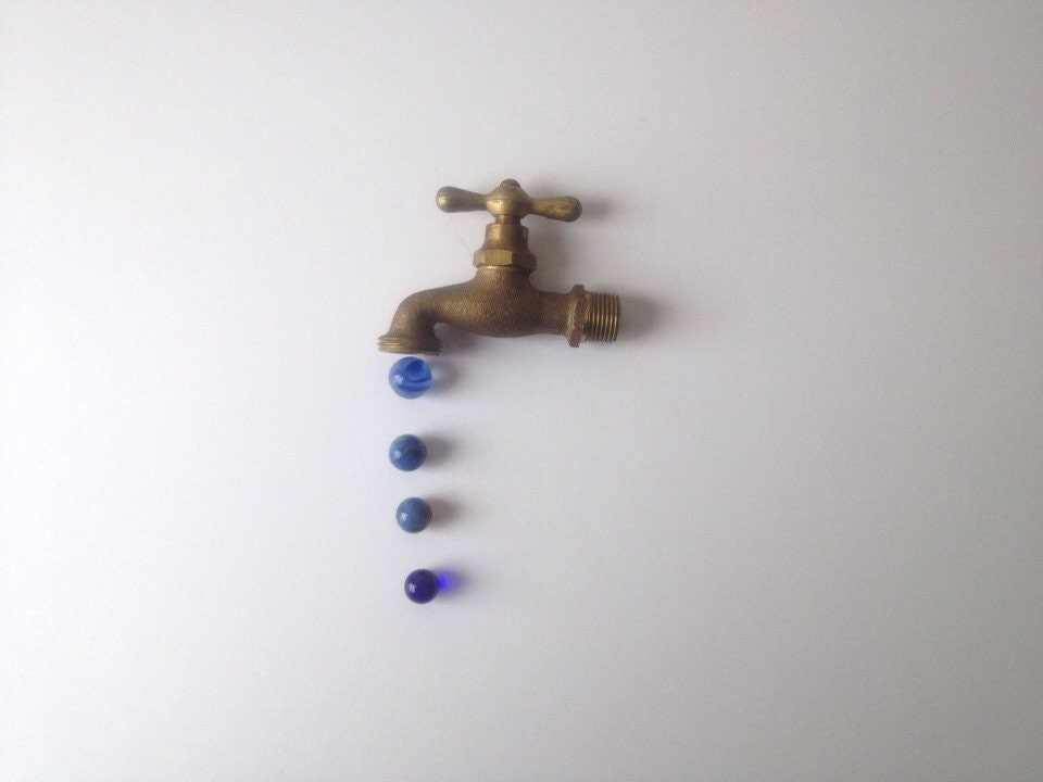 Vintage Water Faucet Old Brass Spigot From Wheretherobinsings On Etsy Studio