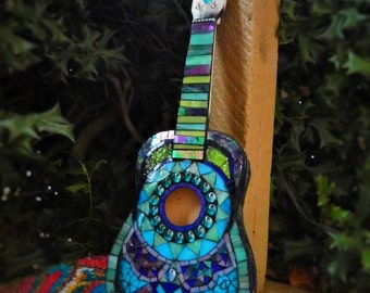 SOLD Mosaic Guitar / Ukulele