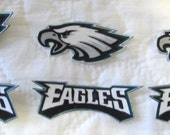 "Philadelphia Eagles ""NO SEW"" Appliques"