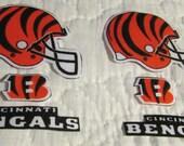 """Cincinnati Bengals """"NO SEW"""" Appliques"""