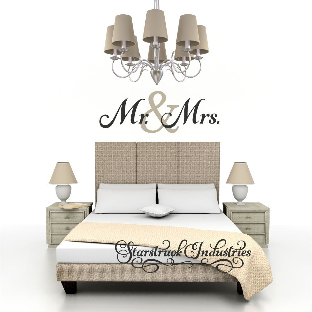 Mr Mrs Wall Decor 28 Images Mr Mrs Wall Decal Large