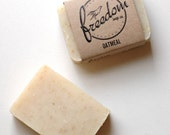 Oatmeal Soap. Palm-Free Soap. Cold Process Soap. Vegan Soap. Exfoliating Soap. 100% Natural.