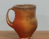 wood soda fired mug #2