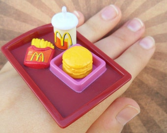 Food Rings - Mini McDonald's Meal