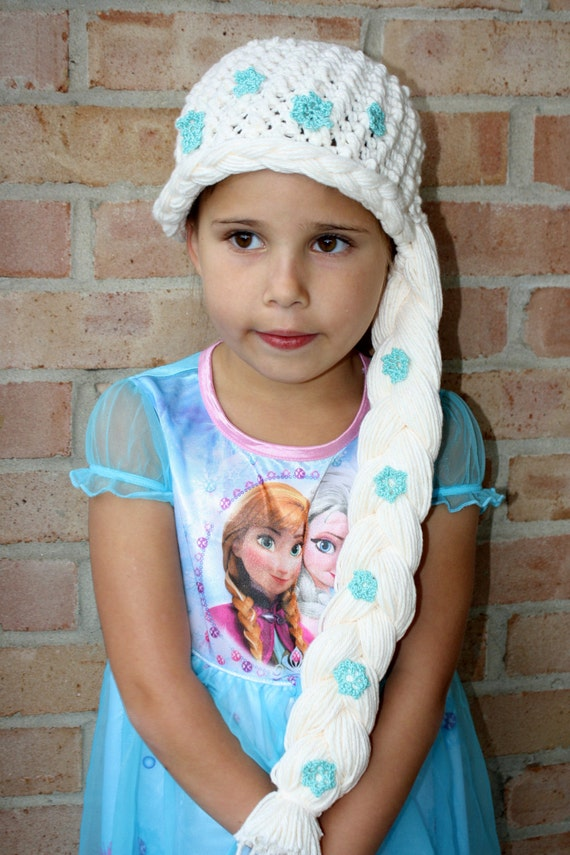 Frozens Elsa Hat EASY Crochet PDF Pattern by ...