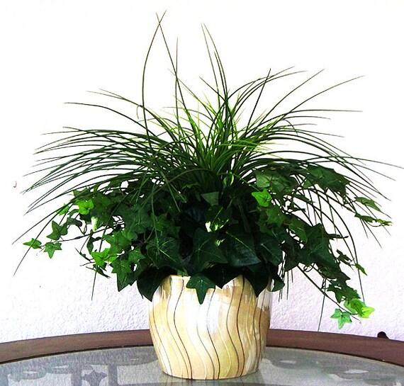 Artificial plant silk flower arrangements centerpieces vase