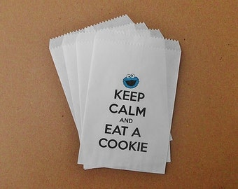 Glassine 'Cookie Monster' Bags for treats, cards, cookies, or anything you can fit in them!