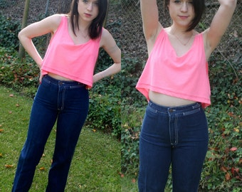 90s High Waisted Dark Wash Denim For Play Jeans XS