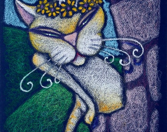 mini canvas art print - rapunzel