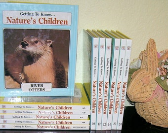 Getting to Know NATURE'S CHILDREN --Choose One or More Volumes,  1985