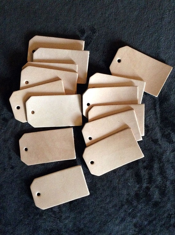 100 blank leather luggage tag cut outs 100 pack pre by exsect for Bulk buy craft supplies