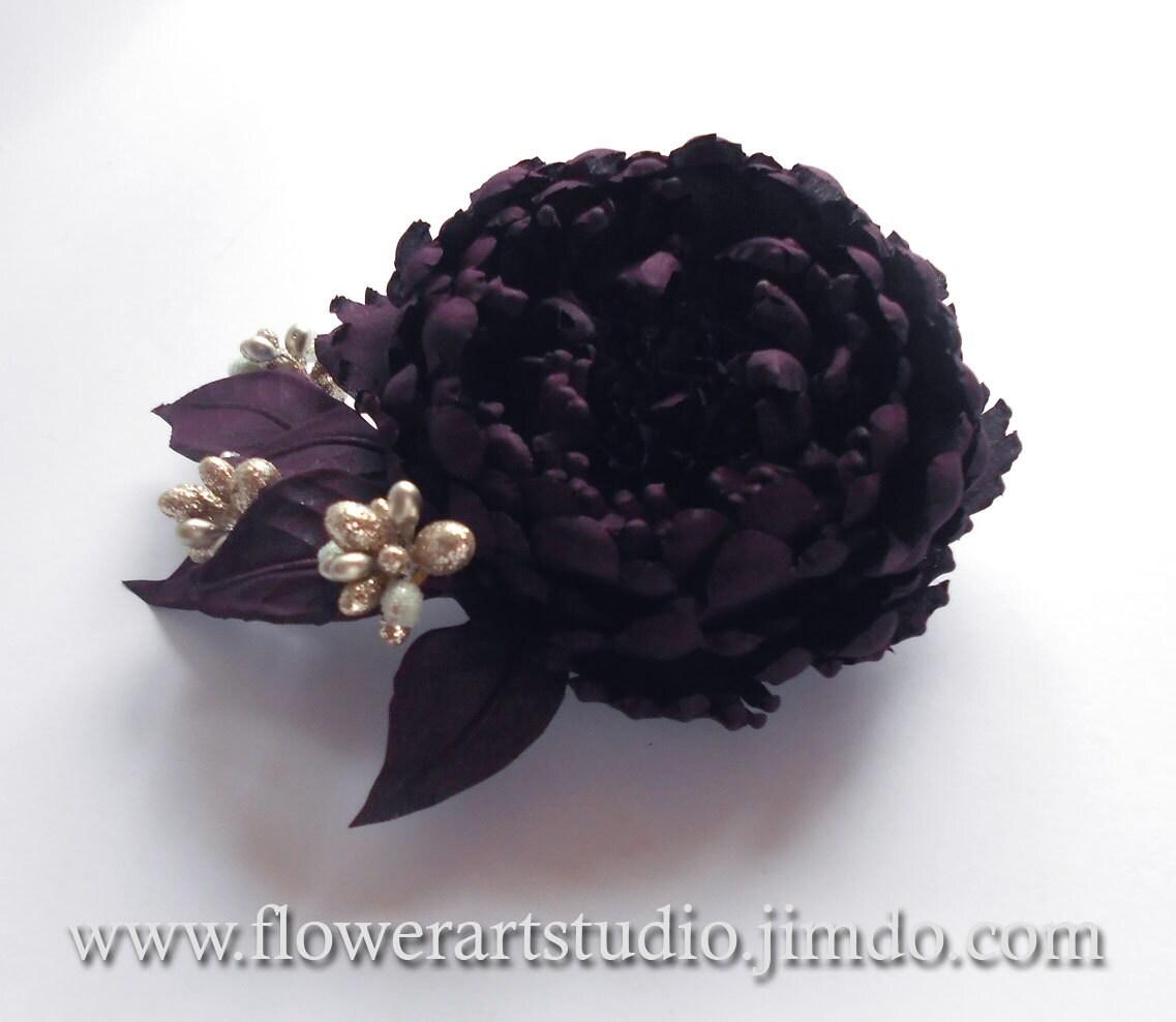 Dark Purple Silk Flowers 100pcs Lavender Bouquet Simulation Flower