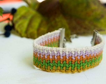 Autumn Friendship Bracelet - Chain