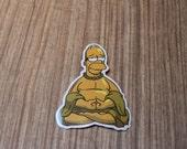 Buddha Sticker, 100% Waterproof Vinyl Sticker, Pop Culture Sticker