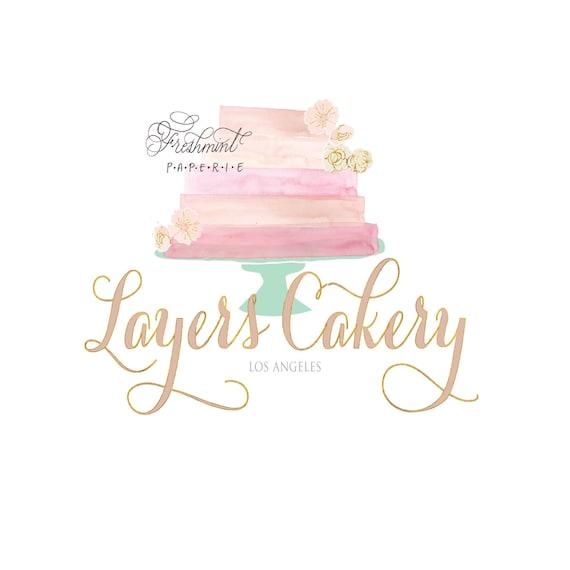 bakery logo cake logo logo design calligraphy logo