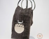 My Neighbor Totoro Inspired - Embroidered Hand Towel