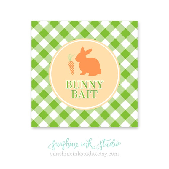 It is a photo of Versatile Bunny Bait Printable