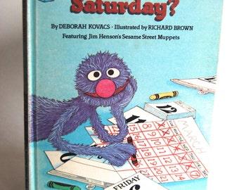 Vintage Children's Book, When is Saturday?
