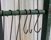 "S Shaped 6"" Hooks - 3 Per Package - Great For Hanging Do Dads"